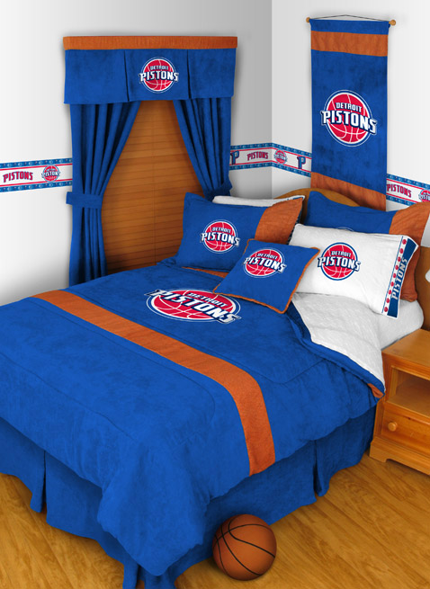 Detroit Pistons Mvp Bedding By Sports Coverage Townhouse