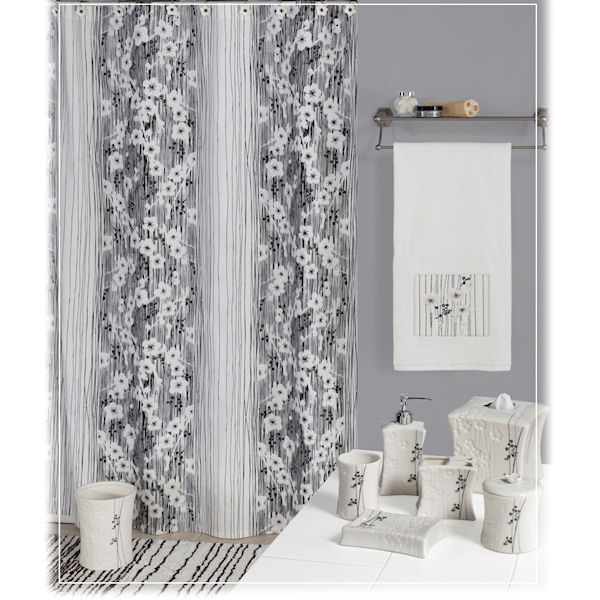 Blossoms Shower Curtain Amp Bath Accessories By Creative