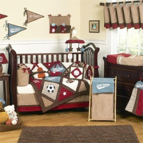 All Star Sports Baby Boy 9pc Crib Bedding Set by JoJo Designs