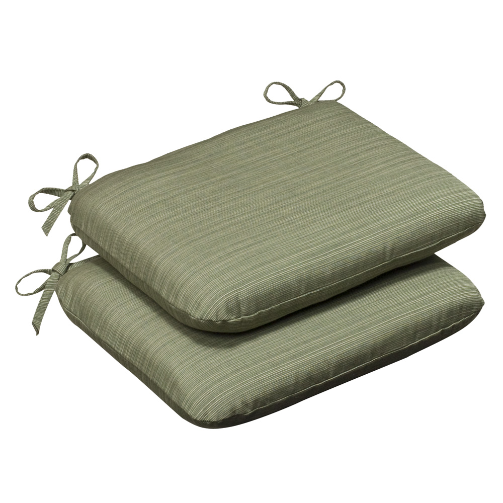 Mercer Green Solid Sunbrella Outdoor Cushion Collection