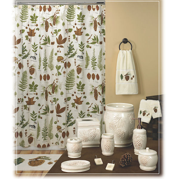 Northwoods Shower Curtain Amp Bath Accessories By Creative