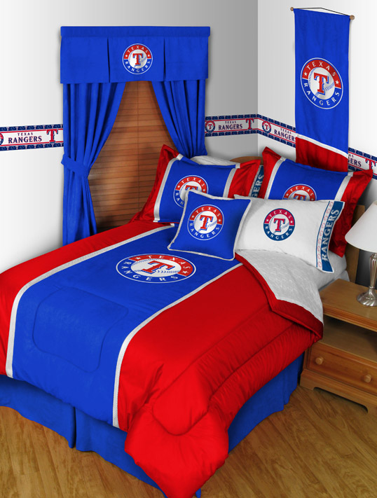 Texas Rangers Mvp Bedding By Sports Coverage Townhouse