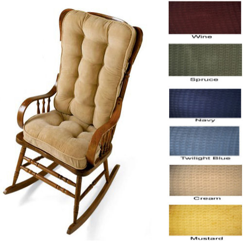 HOW TO RECOVER A ROCKING CHAIR CUSHION  Chair Pads & Cushions