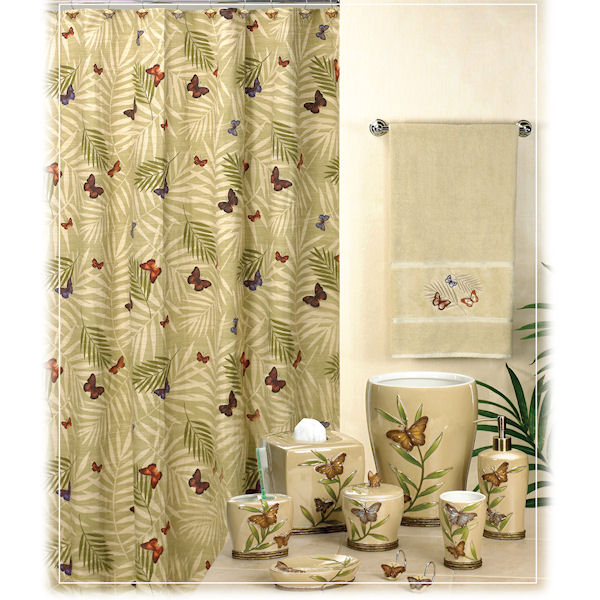 Bora Shower Curtain Bath Accessories