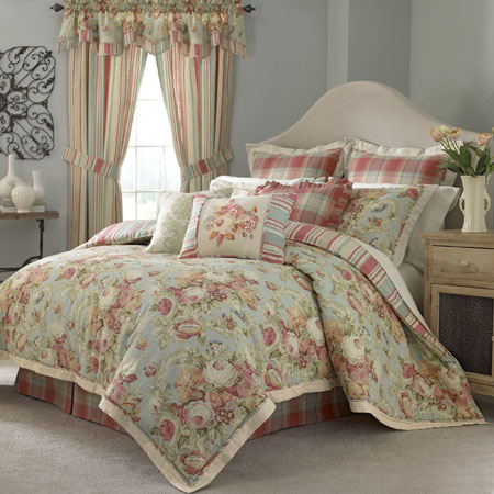 Spring Bling Comforter Set And Accessories By Waverly