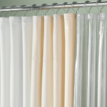 108 Extra Wide Vinyl Shower Curtain Liner Townhouse Linens