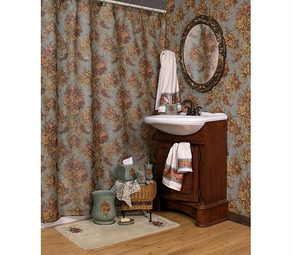 Country Rose By Kathy Ireland Shower Curtain And Bath