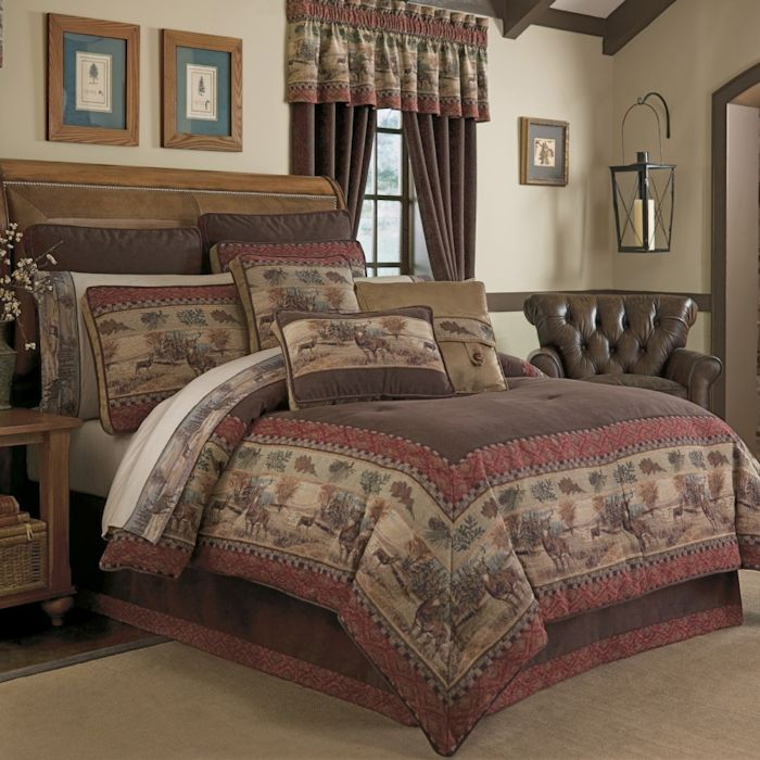 Deer Valley Bedding Ensemble By Croscill Townhouse Linens
