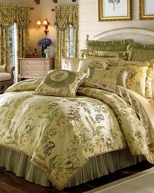 Iris Multi Bedding Ensemble By Croscill Townhouse Linens