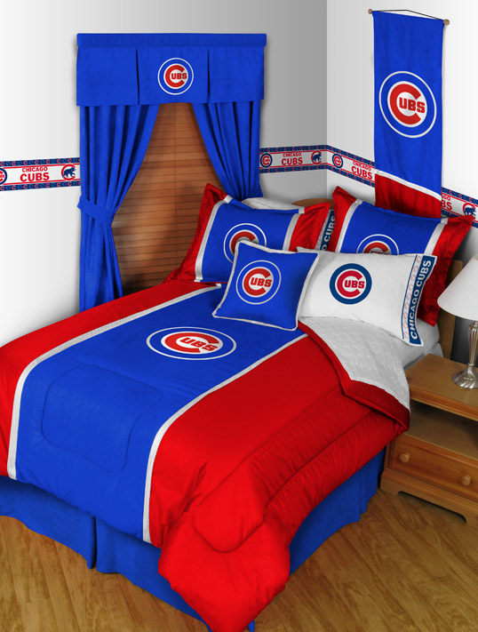 Chicago Cubs Mvp Bedding By Sports Coverage Townhouse Linens