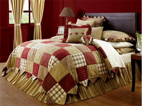 Heartland Quilt And Accessories By Victorian Heart