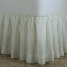 Bed Skirts Dust Ruffles Detachable Bedskirts