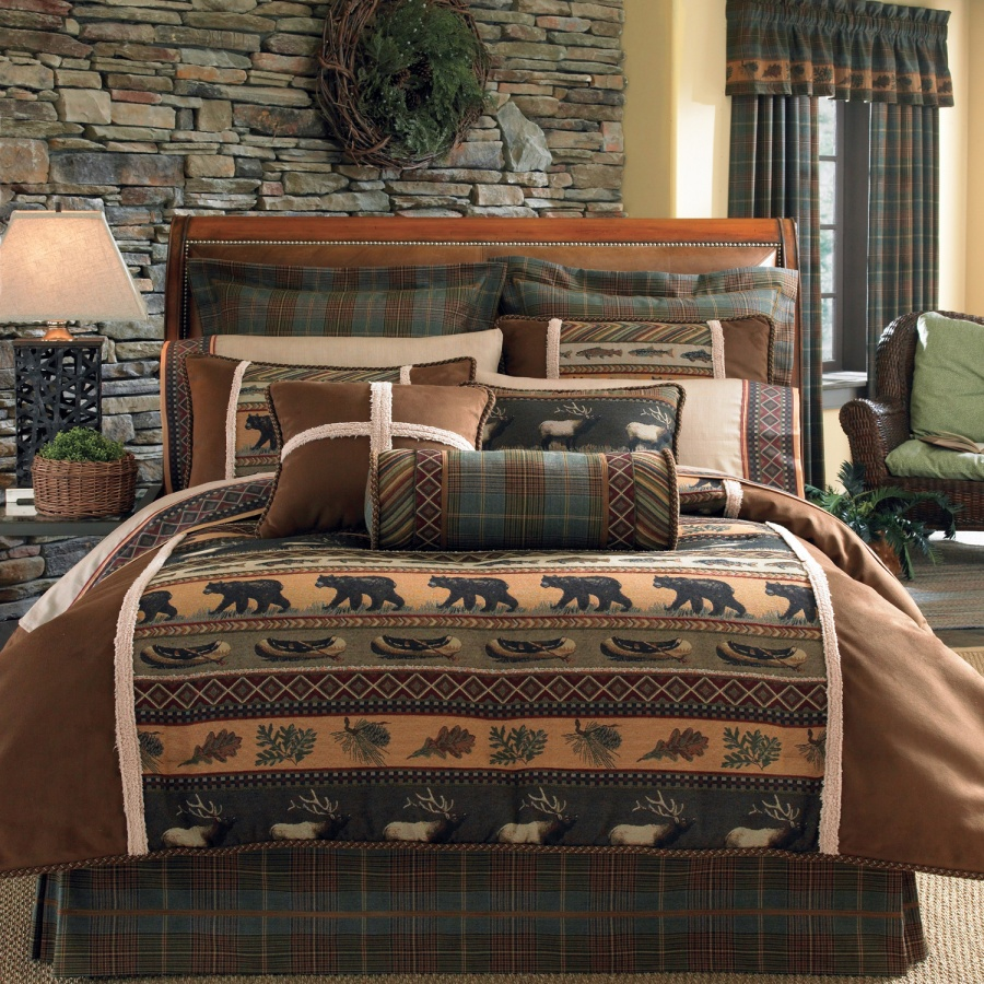Caribou Multi Bedding Ensemble By Croscill Townhouse Linens