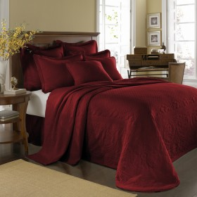 Scarlett King Charles Matelasse Bedspread And Coverlet Bedding