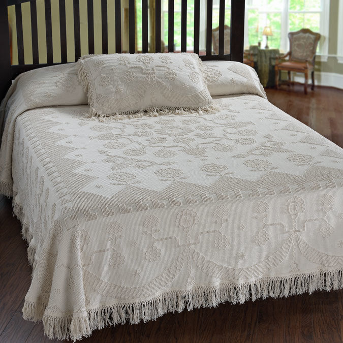 Martha S Choice George Washington Bedspread Townhouse Linens