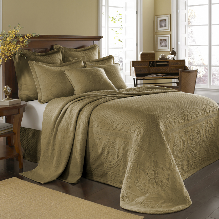 Home Bedding Bedspreads & Coverlets Birch King Charles Matelasse ...