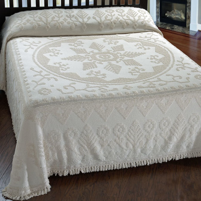 Home Bedding Bedspreads & Coverlets American Tradition Chenille ...