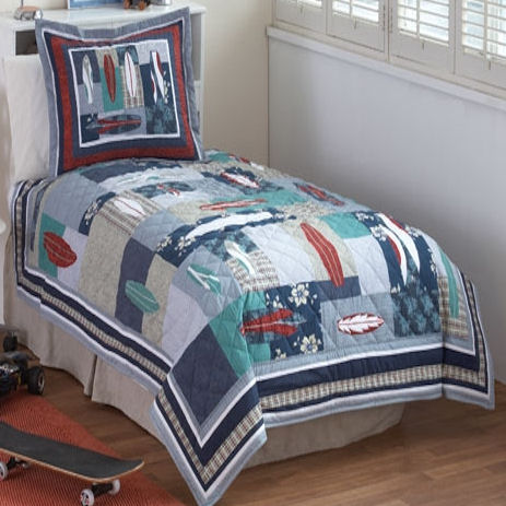 Cannon Lila Quilt & Pillow Shams - Bed & Bath - Decorative