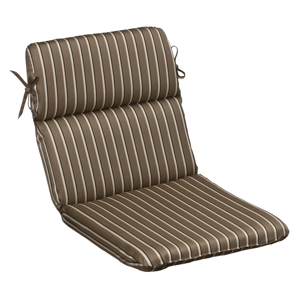 brown beige striped sunbrella outdoor cushion collection