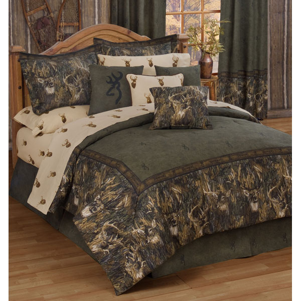Browning Whitetail Deer Comforter Sets By Kimlor