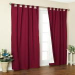 Weathermate Thermalogic Insulated Tab Top Curtain Panel Pair Townhouse Linens