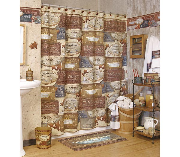 Country Baths Shower Curtain And Bath Accessories
