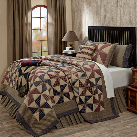 Providence Quilt And Accessories By Vhc Brands Townhouse Linens