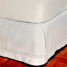 Hemstitch 100 Cotton Box Pleated Bedskirt Townhouse Linens