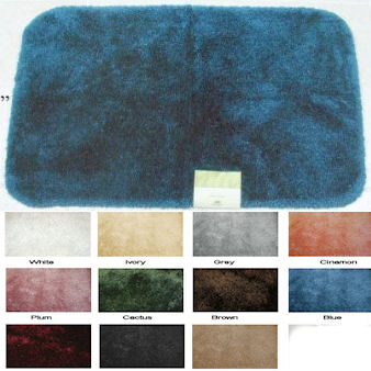 Royale 100 Nylon Bathroom Rugs By Mohawk Usa Townhouse