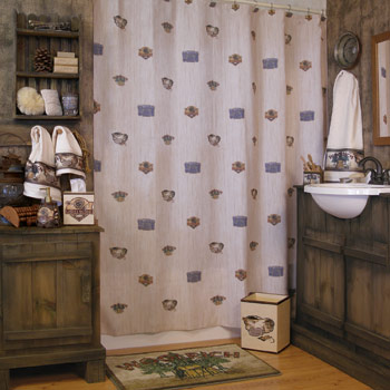 Catch and Release by Woolrich Shower Curtain and Bath