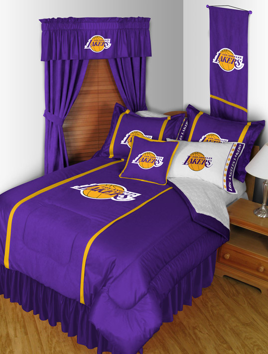 Los Angeles Lakers Mvp Bedding By Sports Coverage